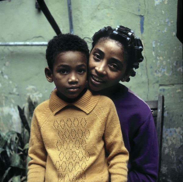 photography mother and child from Cuba